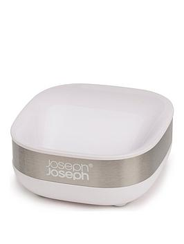 joseph-joseph-slim-steel-white-soap-dish