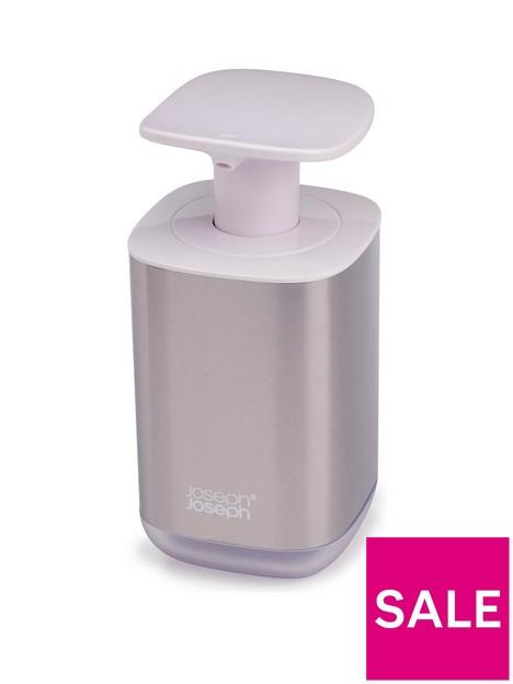 joseph-joseph-presto-steel-white-soap-dispenser