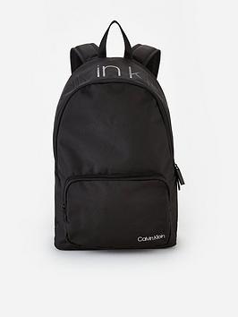 calvin-klein-item-backpack-with-zip-pocket-black