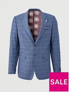ted-baker-maeve-sterling-check-suit-jacket