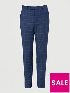 ted-baker-maeve-sterling-check-suit-trousers-blue