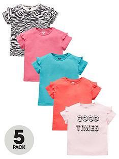v-by-very-girls-5-pack-ruffle-sleeve-t-shirts-multi