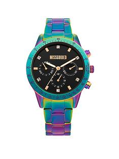 missguided-missguided-iridescent-bracelet-with-black-look-multi-dial