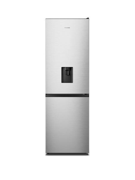hisense-rb390n4wc1nbsp60cm-wide-total-no-frost-fridge-freezer-stainless-steel-look