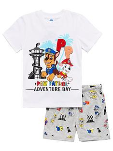 paw-patrol-boysnbspready-for-action-t-shirtnbspand-shorts-outfit-set-multi