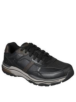skechers-bike-toe-leather-shoes-black