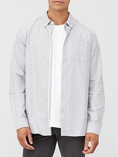 very-man-long-sleeved-oxford-shirt-grey