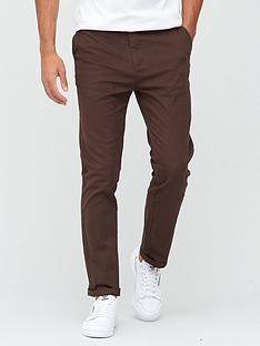 very-man-smart-slim-fit-stretch-chino-brown