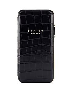 radley-signature-black-croc-folio-case-with-card-slot-iphone-xxs