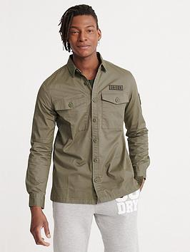 superdry-core-military-patched-long-sleeve-shirt-green