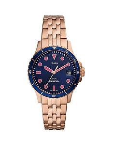 fossil-fossil-blue-date-dial-rose-gold-stainless-steel-bracelet-ladies-watch