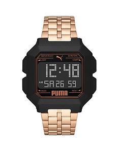 puma-puma-black-and-rose-gold-detail-digital-dial-rose-gold-alloy-bracelet-watch