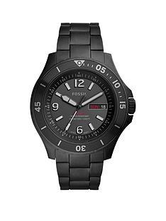 fossil-fossil-black-and-red-detail-daydate-dial-black-stainless-steel-bracelet-mens-watch