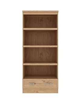 camberley-bookshelf-nbspdisplay-unitnbsp--oak-effect