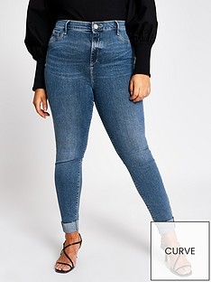 ri-plus-mid-rise-molly-turn-up-jeggings-blue