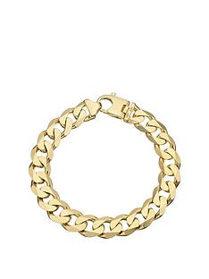love-gold-9ct-yellow-gold-2-oz-solid-diamond-cut-curb-bracelet