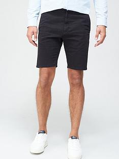 hugo-glen-chino-shorts-black