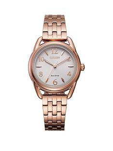 citizen-citizen-ladies-eco-drive-rose-gold-bracelet-watch