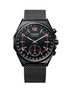 citizen-eco-drive-promaster-black-stainless-steel-bracelet-black-dial-watch