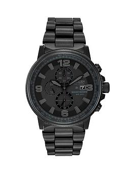citizen-citizen-eco-drive-nighthawk-black-stainless-steel-ip-black-dial-bracelet-watch