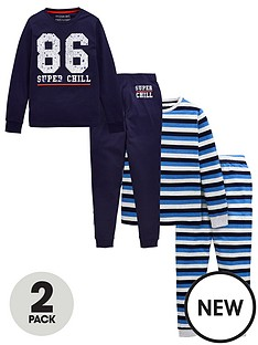 v-by-very-boys-2-pack-super-chill-pj-set-navy-grey