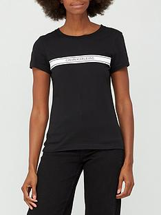 calvin-klein-jeans-stripe-slim-tee-black