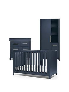 mamas-papas-melfi-cot-bed-dresser-changer-and-storage-wardrobe-midnight-blue