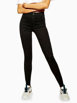 topshop-high-waisted-skinnynbspjoni-jeans-black