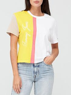 tommy-jeans-colorblock-logo-t-shirt-white