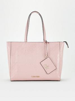calvin-klein-must-em-shopper-medium-pink