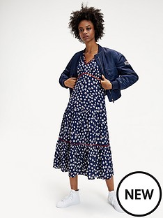 tommy-jeans-tommy-jeans-printed-lace-trim-dress