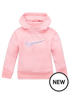 nike-younger-girlsnbsptherma-pullover-hooded-tunic-pink
