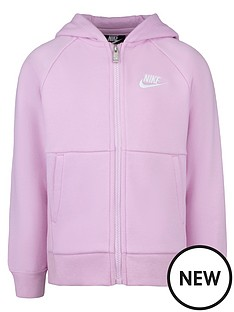 nike-nswnbspyounger-girlsnbspfleece-full-zip-hoodie--pink