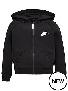 nike-younger-girls-g-nswnbsppe-fleecenbspfull-zip-hoodie-black