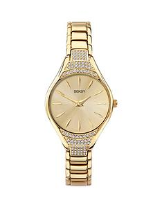 sekonda-seksy-crystal-gold-bracelet-watch