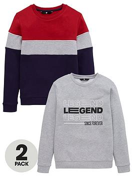 v-by-very-boys-2-pack-long-sleeve-sweat-tops-blue