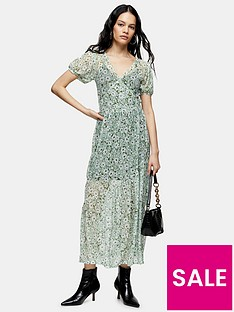 topshop-daisy-mesh-midi-dress-green