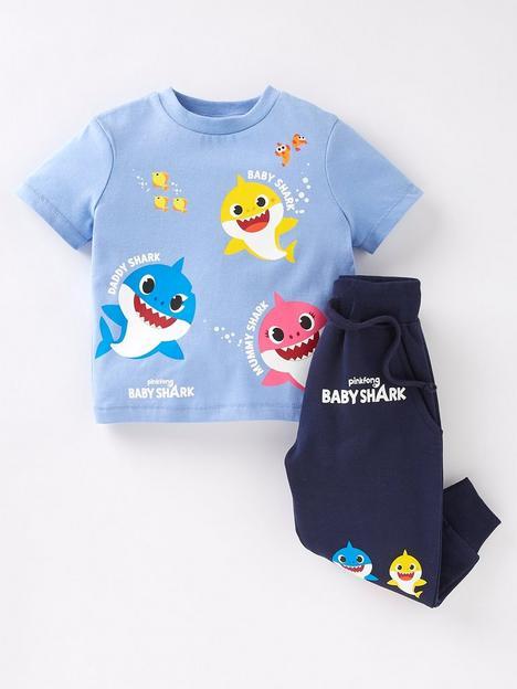 baby-shark-boysnbsp2-piece-long-sleeve-t-shirt-and-jogger-set-bluenbsp
