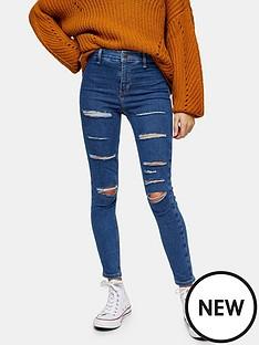 topshop-petite-super-rip-joni-jeans-blue
