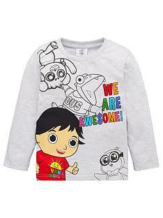 ryans-world-boy-ryans-world-we-are-awesome-long-sleeve-t-shirt