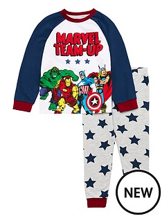 marvel-boys-marvel-team-up-raglan-pjs-set-multi