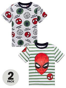 spiderman-boysnbsp2-pack-short-sleeve-t-shirts-green