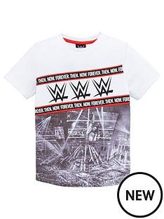 wwe-boys-wwe-ring-print-t-shirt-white