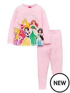 disney-princess-girlsnbspown-your-crown-pjs-pink