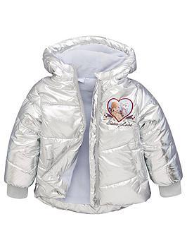 disney-frozen-girls-frozen-sister-love-padded-hooded-jacket-silver