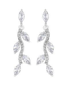 jon-richard-jon-richard-bridal-pave-wave-leaf-drop-earrings