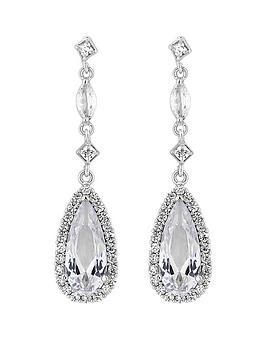 jon-richard-jon-richard-bridal-cubic-zirconia-classic-navette-pear-drop-earrings