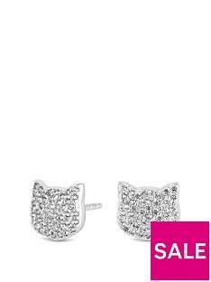 simply-silver-cat-stud-earrings