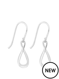 simply-silver-infinity-drop-earring