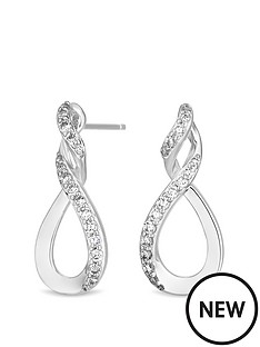 simply-silver-simply-silver-cubic-zirconia-infinity-top-twist-drop-earring